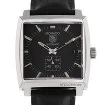 TAG Heuer Monaco Calibre 6 Steel Black No numerals