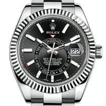 Rolex Sky-Dweller Steel 42mm Black No numerals United States of America, California, Los Angeles