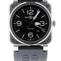 Bell & Ross BR 03-92 Steel Сталь 42mm Черный Aрабские