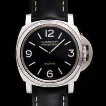 Panerai Luminor Base 8 Days Steel 44mm Black United States of America, California, San Mateo