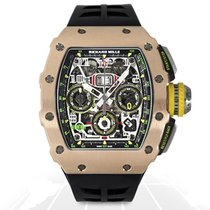 Richard Mille Rose gold 49mm Automatic RM11-03 RG TI new