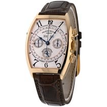 Franck Muller Yellow gold Automatic Silver Arabic numerals 47mm pre-owned