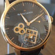 Maurice Lacroix Masterpiece MP7158-PG101-700 Very good Rose gold Manual winding United States of America, California, Beverly Hills