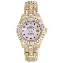 Rolex Lady-Datejust Pearlmaster 29mm Mother of pearl United States of America, Texas, Dallas