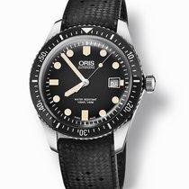 Oris 01 733 7720 4054-07 4 21 18 Steel Divers Sixty Five 42mm new