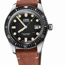 Oris Divers Sixty Five Steel Black