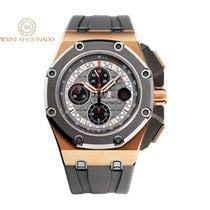 Audemars Piguet Royal Oak Offshore Chronograph Rose gold 44mm Grey No numerals