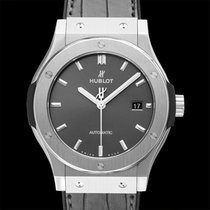 Hublot Titanium 42mm Automatic 542.NX.7071.LR new