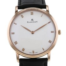 Blancpain Villeret Or rose 40mm Blanc Romains France, Paris