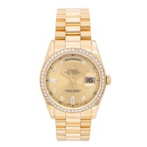Rolex 118348 Yellow gold Day-Date 36 36mm pre-owned United States of America, Texas, Dallas