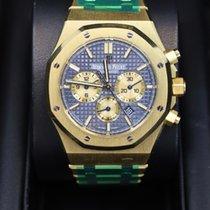 Audemars Piguet Royal Oak Chronograph Yellow gold 41mm Blue United States of America, New York, NEW YORK