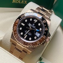 Rolex Oro rosa Automático nuevo GMT-Master II