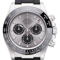 Rolex Daytona Or blanc 40mm Gris Arabes