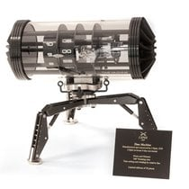 L'Epée Steel 257mm Manual winding 74.6001/214 new