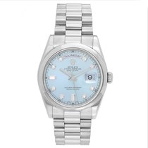 Rolex Day-Date 36 118209 Very good White gold 36mm Automatic
