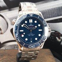 Omega Seamaster Diver 300 M 210.30.42.20.03.001 Omega Seamaster Diver300M Blu/Acciaio 2020 nouveau