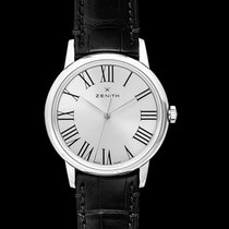 Zenith Steel Automatic Silver 39mm new Elite