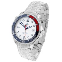 Omega Seamaster Diver 300 M Steel 41mm White