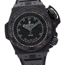 Hublot King Power 731.QX.1140.RX Nu a fost purtat Carbon 48mm Atomat
