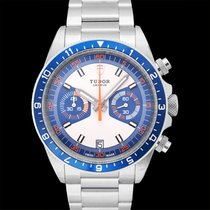 Tudor Heritage Chrono Blue Steel 42mm Blue United States of America, California, San Mateo