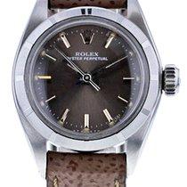 Rolex Damenuhr Oyster Perpetual 25mm Automatik gebraucht Nur Uhr 1982