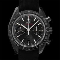 Omega Ceramic Automatic Black 44.25mm new Speedmaster Professional Moonwatch