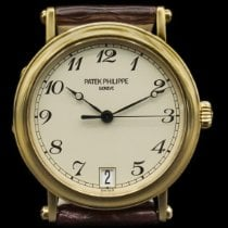 Patek Philippe Calatrava Yellow gold 36mm Silver United States of America, New York, New York