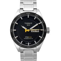 Tissot PRS 516 Сталь 42mm Черный
