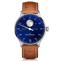 Meistersinger Lunascope LS908 New Steel 40mm Automatic