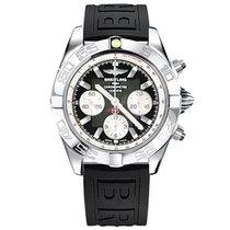 Breitling Chronomat 44 Сталь 44mm Черный
