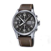 Oris Big Crown ProPilot Chronograph Acier 44mm Gris Arabes