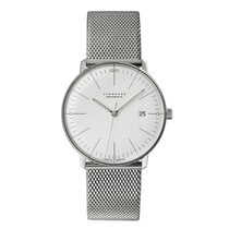 Junghans 027/4002.46 Steel 2018 max bill Automatic 38mm new