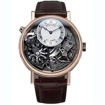 Breguet Rose gold Manual winding Roman numerals 40mm new Tradition