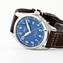 IWC Steel Automatic Blue Arabic numerals 40mm new Pilot Mark