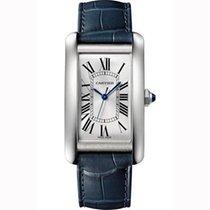 Cartier Tank Américaine nieuw Automatisch Horloge met originele doos en originele papieren WSTA0018