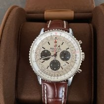 Breitling AB0121211G1P1 Staal Navitimer 1 B01 Chronograph 43 43mm nieuw