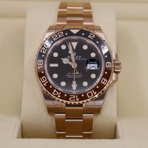 Rolex GMT-Master II Rose gold 40mm Black No numerals United States of America, New York, NEW YORK