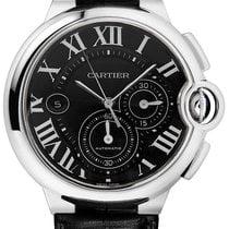 Cartier Ballon Bleu 44mm Steel 44mm Black Roman numerals United States of America, New York, New York