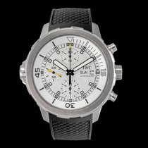 IWC Steel Automatic Silver 44.00mm new Aquatimer Chronograph