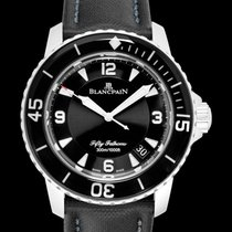 Blancpain Fifty Fathoms Steel 45.00mm Black United States of America, California, San Mateo