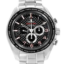 Omega Speedmaster Broad Arrow Steel 44.2mm Black Arabic numerals