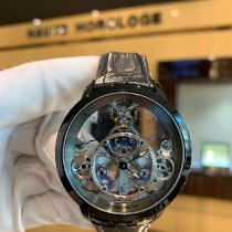Arnold & Son 1LCAP.S10A.C110A New Steel 44.6mm Automatic