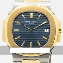 Patek Philippe 3700 Gold/Steel 1989 Nautilus 40mm pre-owned