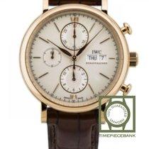 IWC Portofino Chronograph nuevo 2020 Automático Cronógrafo Reloj con estuche y documentos originales IW391020