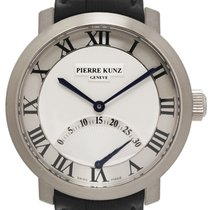 Pierre Kunz White gold Automatic Roman numerals 41mm pre-owned