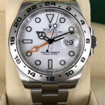 Rolex Explorer II Steel 42mm White No numerals United States of America, Illinois, Springfield
