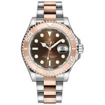 Rolex Yacht-Master 37 Gold/Steel 37mm No numerals United States of America, New York, New York