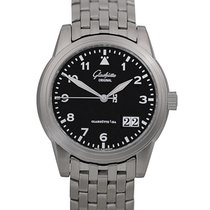 Glashütte Original Senator Navigator Panorama Date Steel 38.6mm Black Arabic numerals