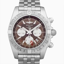 Breitling Chronomat 44 GMT Stahl 44.00mm Braun