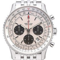 Breitling AB0121211G1A1 Staal 2021 Navitimer 1 B01 Chronograph 43 43mm nieuw